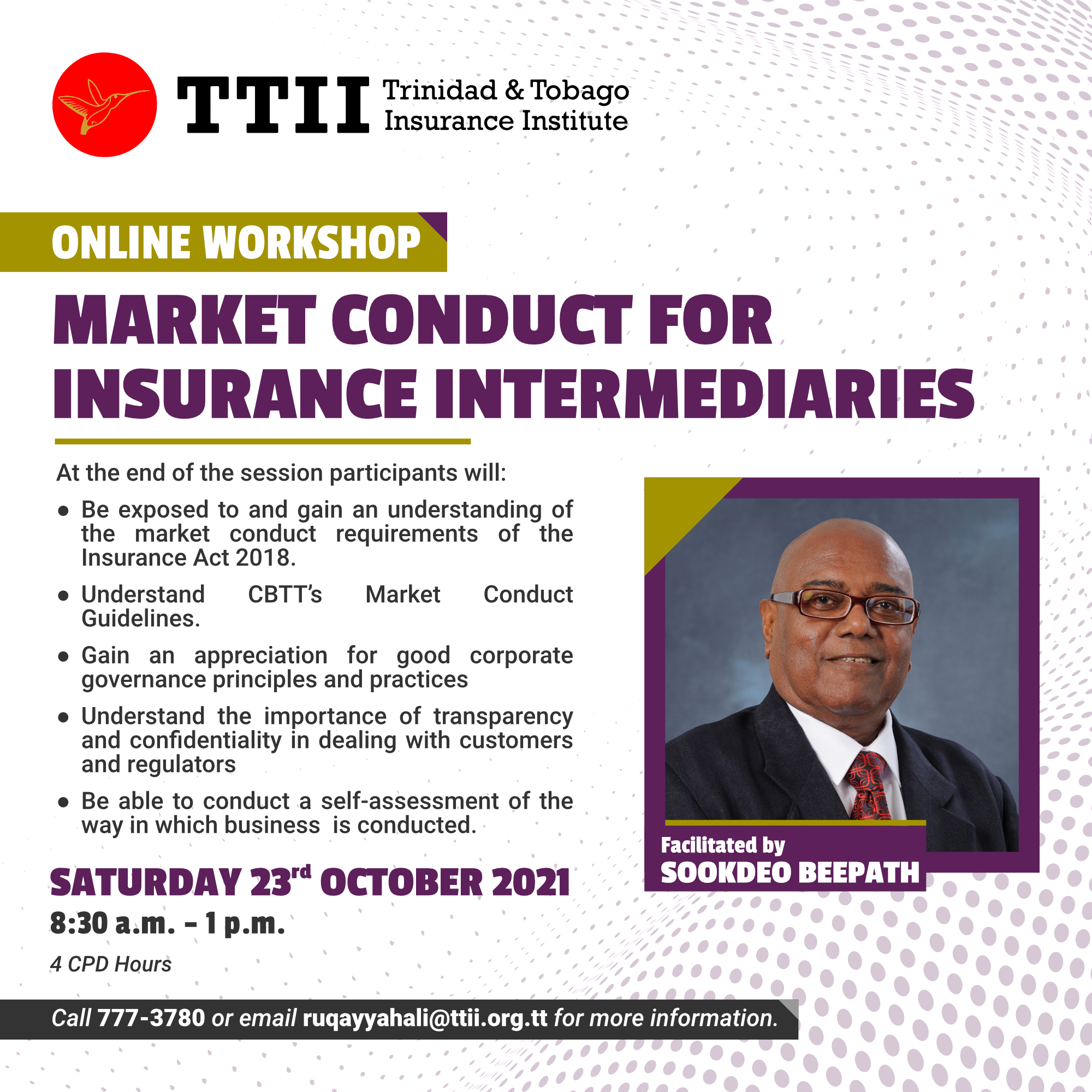 Market Conduct for Insurance Intermediaries