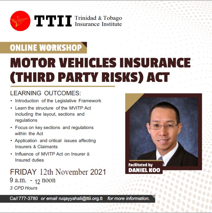 Motor Vehicles Insurance (Third Party Risks) Act-Repeat Sesion