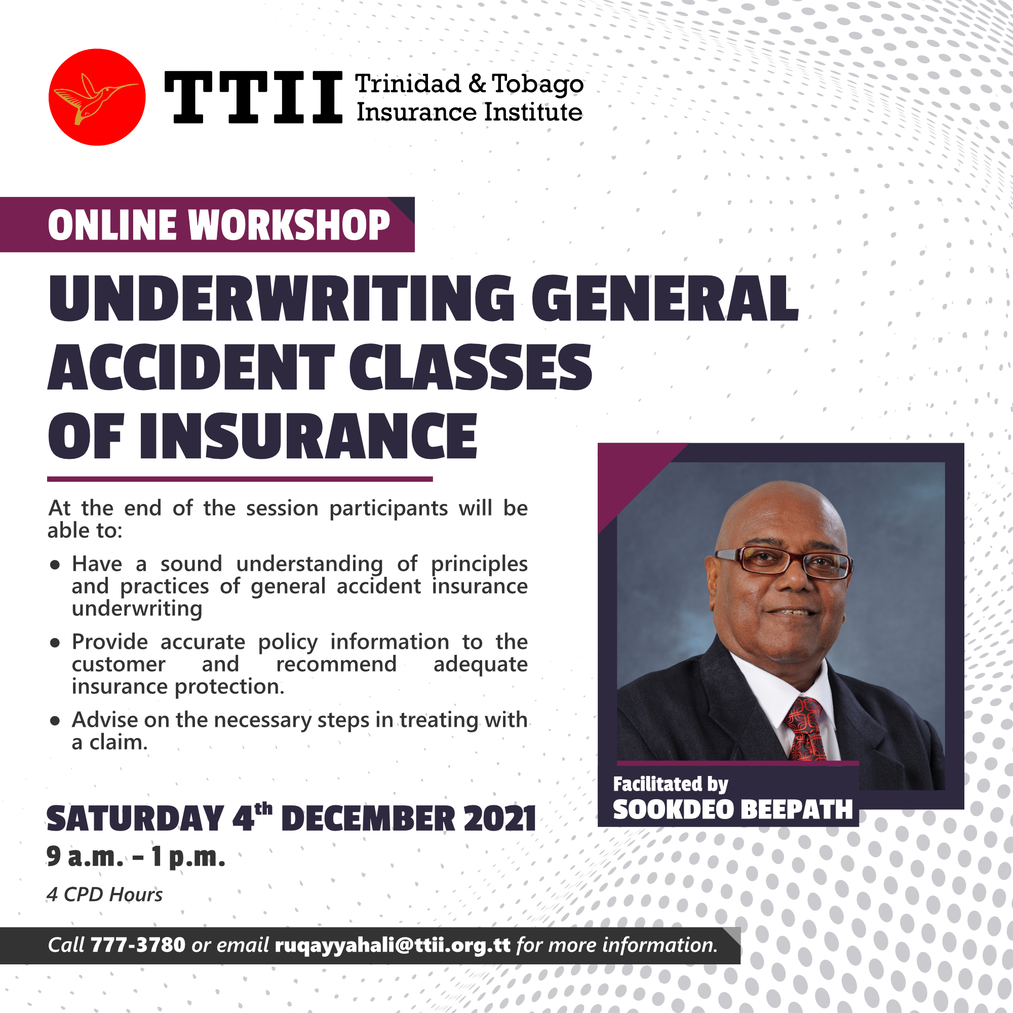 Underwriting General Accident Classes of Insurance